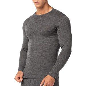 camiseta interior hombre de lana merino