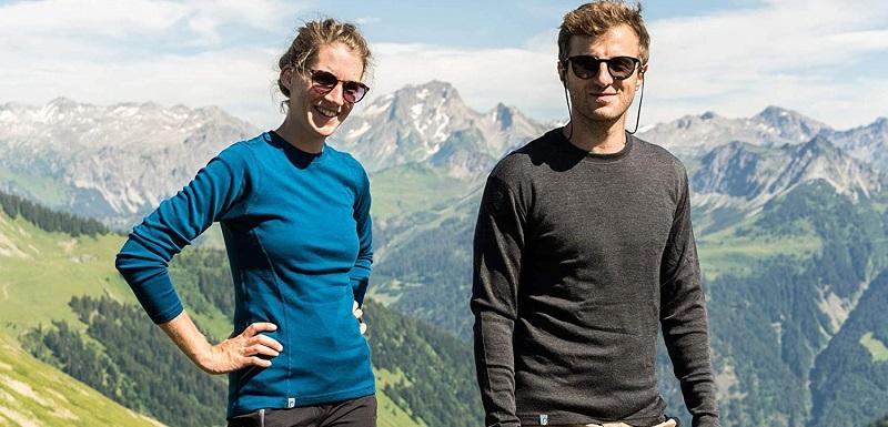 camisetas d lana merino ara la montaña