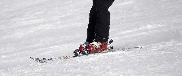 esquiar botas nieve