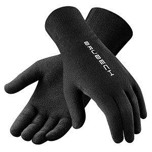 guantes de fibra de lana merino