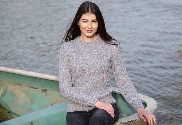 jersey de mujer de lana merino