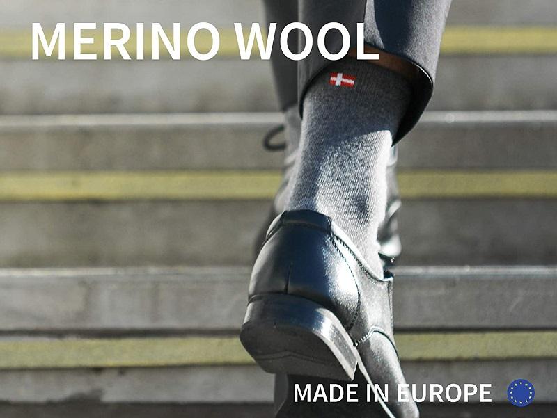 lana merino calcetines ejecutivos de danish endurance