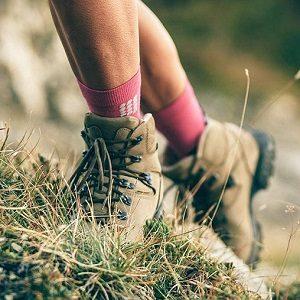 lana merino calcetines para montañismo